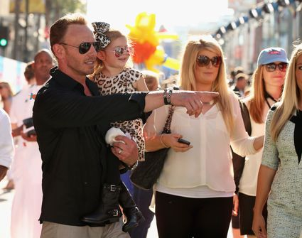 """ian ziering at the World Premiere Of """"Disney's Planes"""" - Target Landing Zone"""