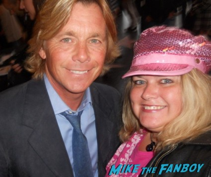 Christopher Atkins fan photo now signing autographs for fans rare promo hot sexy pirate movie star signed autograph the pirate movie dvd cover rare