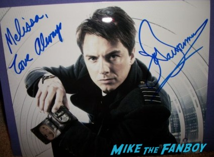 John Barrowman signed autograph photo rare promo torchwood dr. who rare desperate housewives