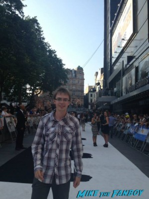 James london premiere of the lone ranger