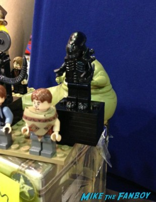 Alien Lego at Wizard World Comic Con chicago 2013 rare