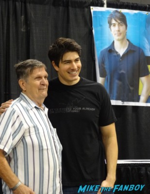 Brandon Routh Manu Bennet Wizard World Comic Con Chicago 2013 rare promo spartacus