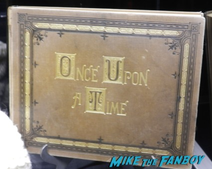 once upon a time prop and costume display D23 disney convention cosplay props and costumes once upon a tim 097
