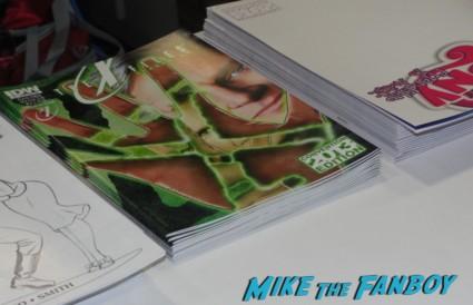 X-files limited edition comic con comic book