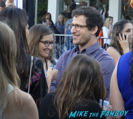 andy samberg hot sexy on the red carpet to do list movie premiere