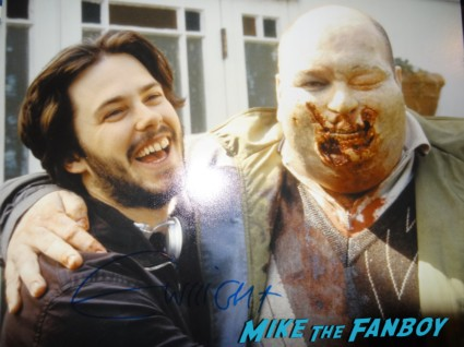 edgar wright signed autograph photo rare shaun of the dead
