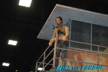 The Walking Dead Booth at SDCC 2013 san diego comic con rare