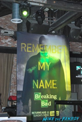 Breaking Bad party at San Diego Comic Con SDCC 2013 rare bryan cranston aaron paul