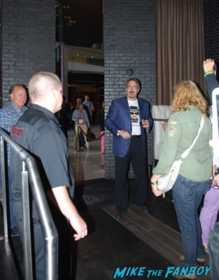 The Breaking Bad cast arriving to the Breaking Bad party at San Diego Comic Con SDCC 2013 rare bryan cranston aaron paul anna gunn