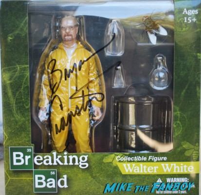 bryan cranston signed walter white figure sdcc exclusive bryan cranston signing autographs at sdcc breaking bad signed autograph