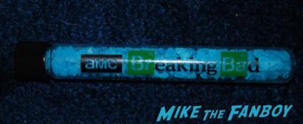 breaking bad logo beaker sdcc 2013 promo party bryan cranston signed walter white figure sdcc exclusive bryan cranston signing autographs at sdcc breaking bad signed autograph