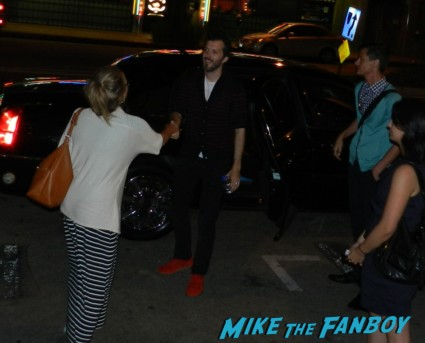 Bret McKenzie from Flight of the Concords signing autographs for fans austenland q and a