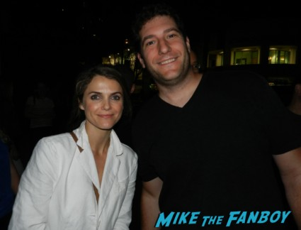 keri russell signing autographs for fans photo rare promo austenland waitress felicity