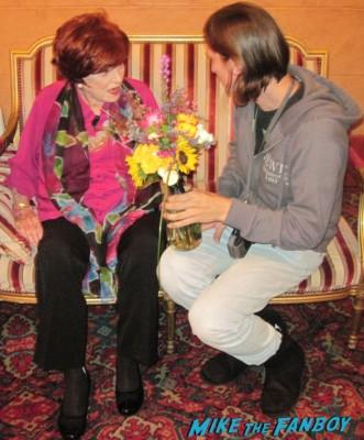 Meeting Maureen O'Hara screen legend rare iowa film festival meet and greet