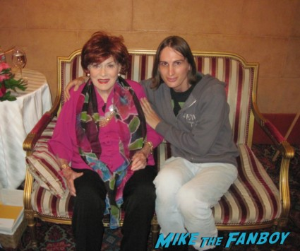 Meeting Maureen O'Hara screen legend rare iowa film festival meet and greet