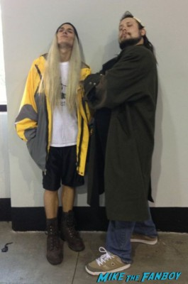 Jay and Silent Bob  cosplay wizardworld comic con 2013 rare promo cosplay 2013