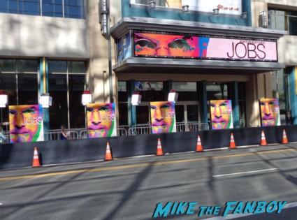 Jobs movie premiere la live rare ashton kutcher promo photo hot