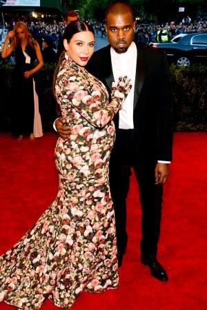 Kanye_kim on the red carpet