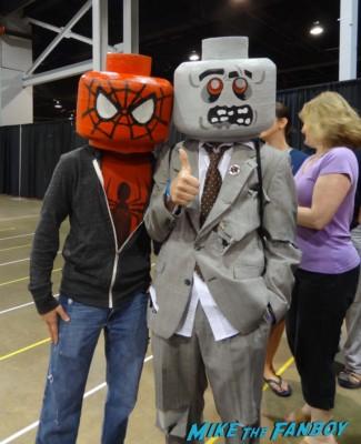 Lego Spidey Jay and Silent Bob  cosplay wizardworld comic con 2013 rare promo cosplay 2013