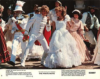 The Pirate movie rare lobby card with christopher atkins and kristy mcnicol