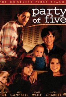 Party of five DVD cover rare promo scott wolf baily