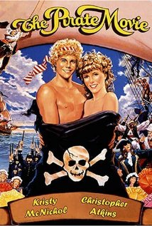 The Pirate Movie dvd cover rare The Pirate movie rare lobby card with christopher atkins and kristy mcnicol