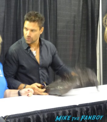 Manu Bennet Wizard World Comic Con Chicago 2013 rare promo spartacus