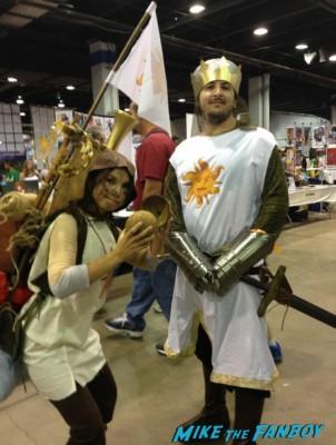 Monty Pyton Neo cosplay wizardworld comic con 2013 rare promo cosplay 2013
