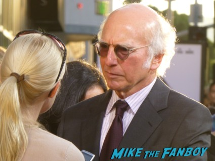 Larry David on the red carpet for HBO's Clear History