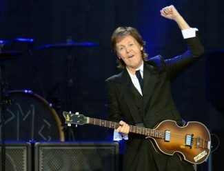 Sir Paul McCartney live in concert photo