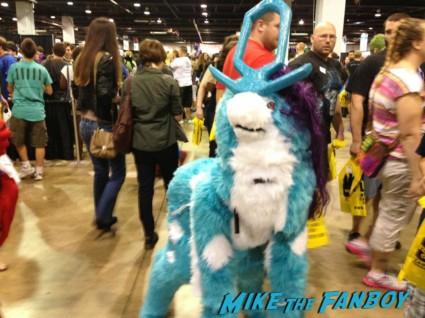 Pony Spidey and Deadpool Tardis cosplay wizardworld comic con 2013 rare promo cosplay 2013