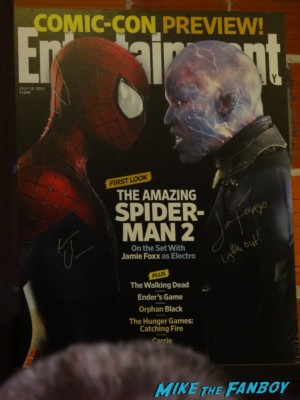 Entertainment Weekly Spider Man 2 the amazing spider man poster tumblr fan meet up