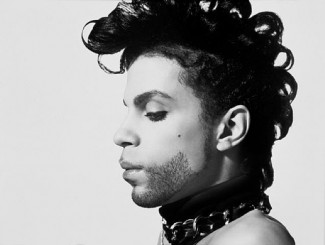 Prince black and white photo rare promo