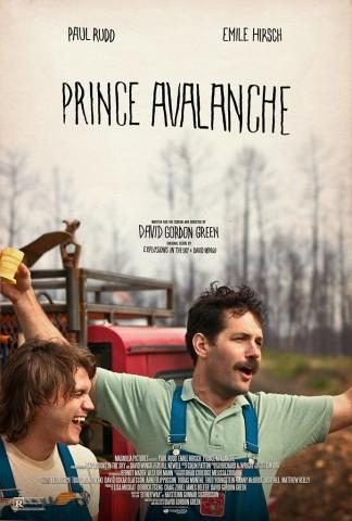 Prince Avalanche movie poster promo rare hot paul rudd rare promo press still paul rudd emile hirsch