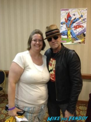Michael Rooker fanfest the walking dead star tombstone rare signature