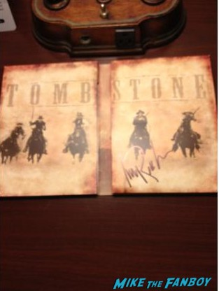 michael Rooker signed Tombstone dvd cover photo rare