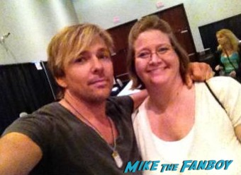 Sean Patrick Flannery fan photo signing autographs fanfest 2013 rare powder