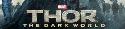 Marvel thor the dark world logo rare promo movie poster one sheet