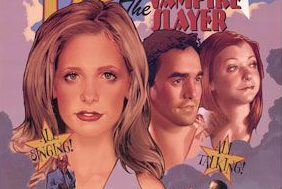 Buffy the vampire slayer once more with feeling poster logo