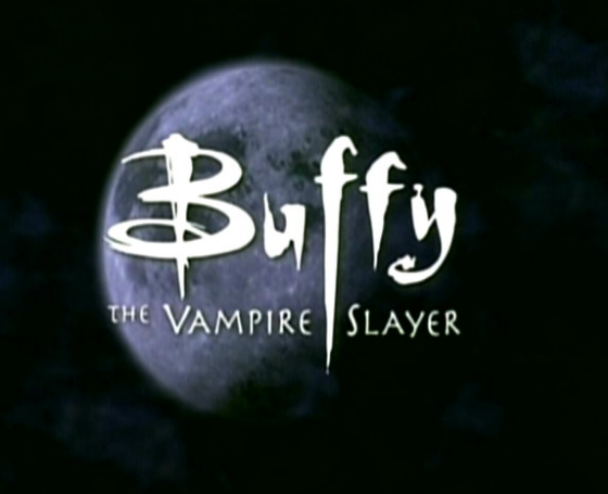 Buffy The Vampire slayer logo rare promo title image season 2 rare