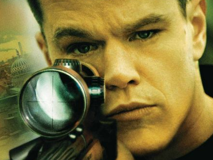 Matt Damon movie poster logo hot rare the bourne ultimatum
