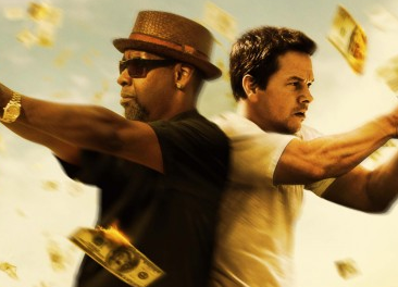 2 guns movie poster marky mark wahlberg denzel washington