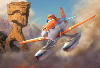planes fire and rescue production still photo rare