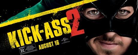 Kick ass 2 logo title image movie poster rare promo