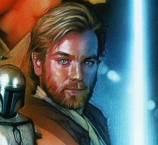 ewan mcgregor returning to star wars movie poster rare promo phantom menace