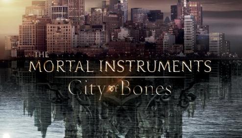 Mortal instrments city of bones movie poster rare pormo