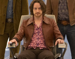 James McAvoy x-men days of future past rare behind the scenes still rare hot sexy professor x