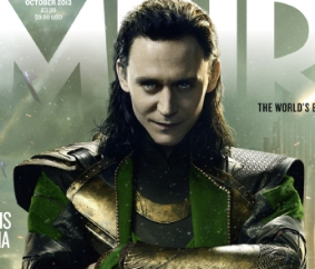Tom Hiddleston Thor: The Dark World empire magazine limited edition cover rare