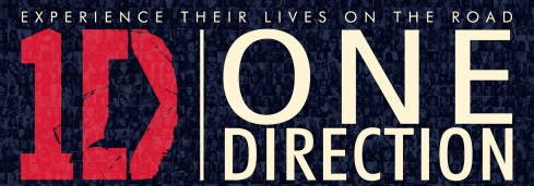 one direction 1D this is us rare logo movie poster promo