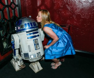 The Geekie Awards - Photo By BNatural Photography - KB & R2D2 - 2